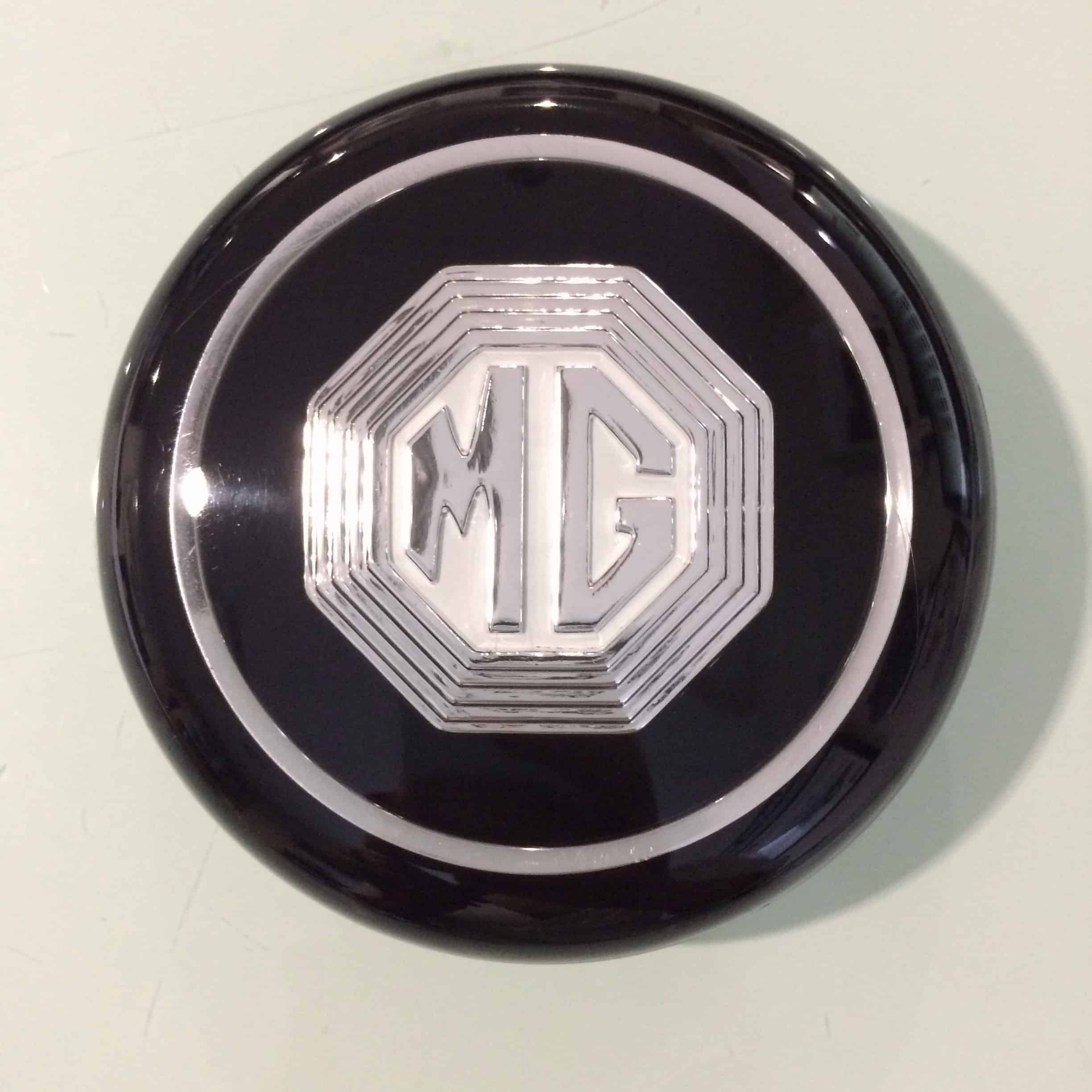 Emb Mga Roadster Coupe Steering Wheel Center Cap Emblem on Roadster Factory Triumph Parts